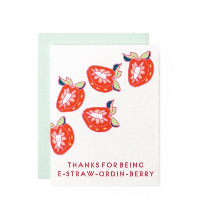 Berry Puns - E-straw-ordin-berry