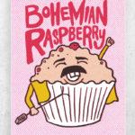 Berry Puns - bohemian raspberry