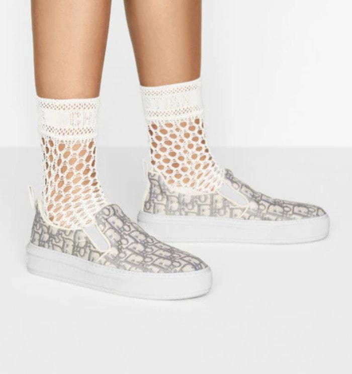 Cool Sneakers for Women - Dior solar slip-on sneaker