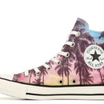 Cool Sneakers for Women - Chuck Taylor All Star Hi Top Palm Print