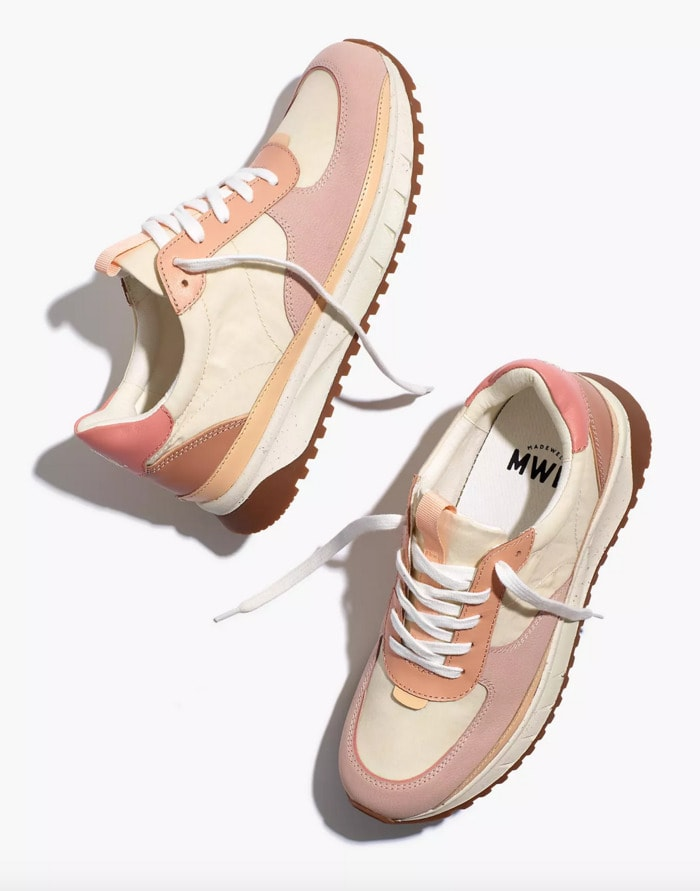 Cool Sneakers for Women - Madewell Kickoff Trainer Sneakers Washed Nylon