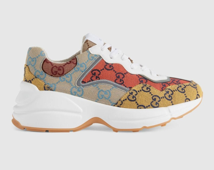 Cool Sneakers for Women - Gucci Rhyton GG Multicolor sneakers