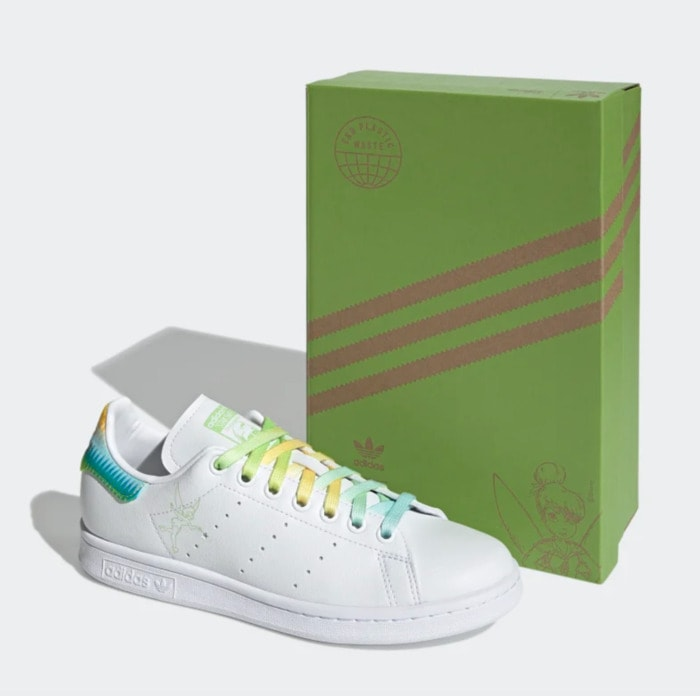Cool Sneakers for Women - Adidas Stan Smith Tinkerbell Shoes