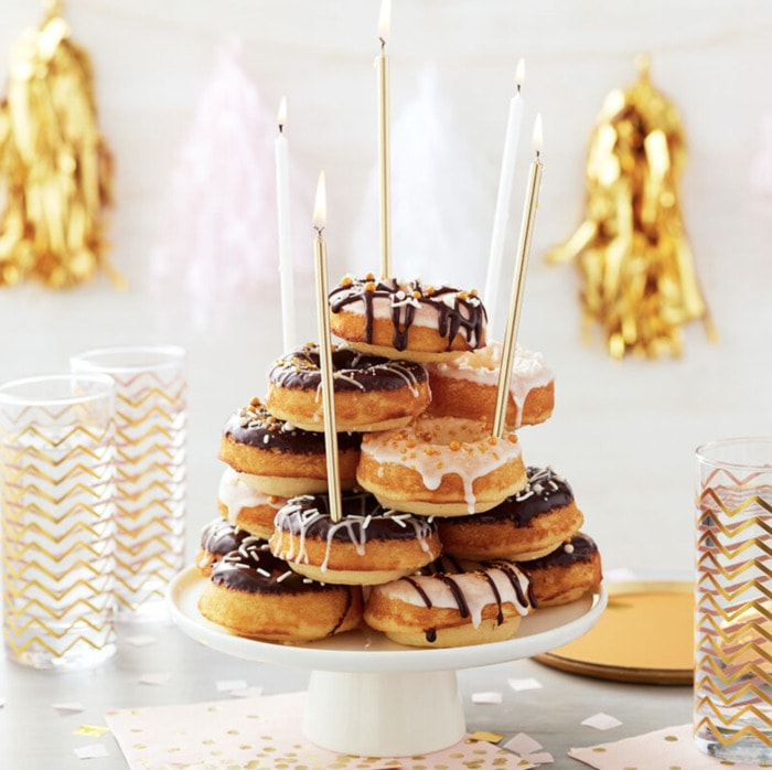 Donut Cakes - All the Glitters is Gold Cake