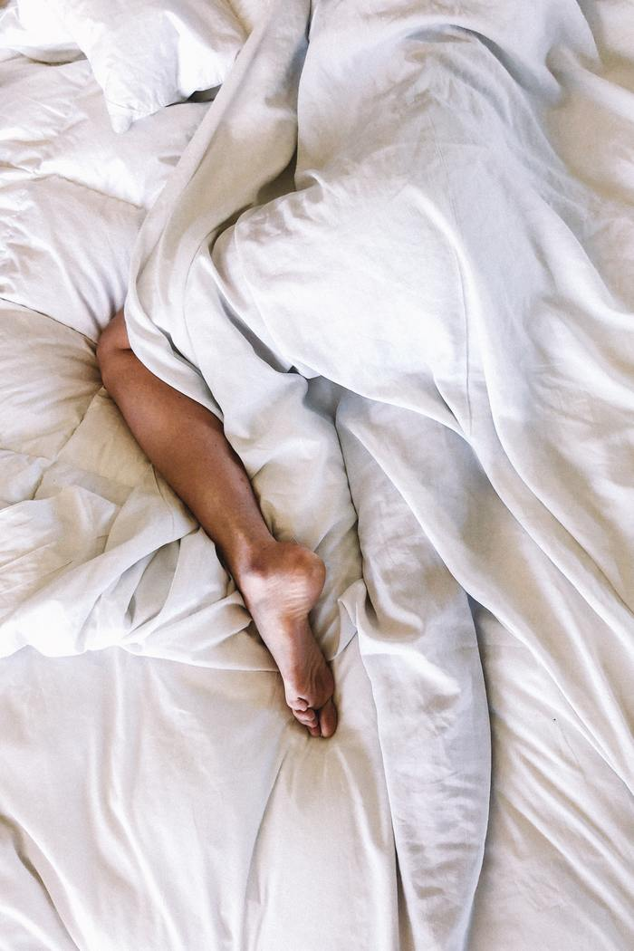 How to Learn What You Like in Bed - woman's leg in bed