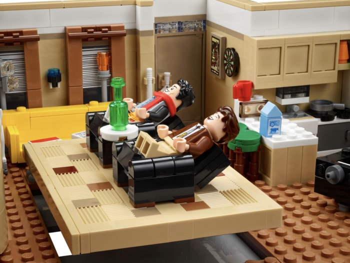 Lego Friends Apartments - Chandler and Joey's apartment