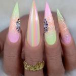 Nail Shapes - stiletto nails