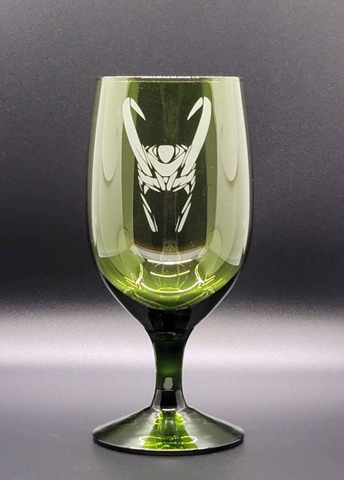 Loki Gift Guide - Green goblet