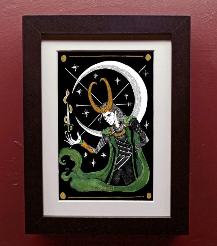 Loki Gift Guide - Hanging Painting