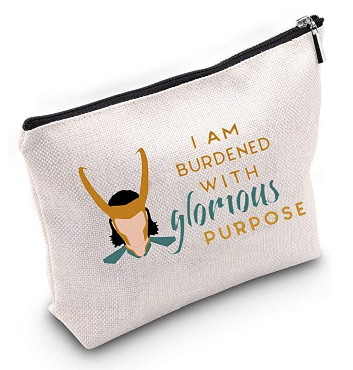 Loki Gift Guide - Burdened with Glorious Purpose Bag