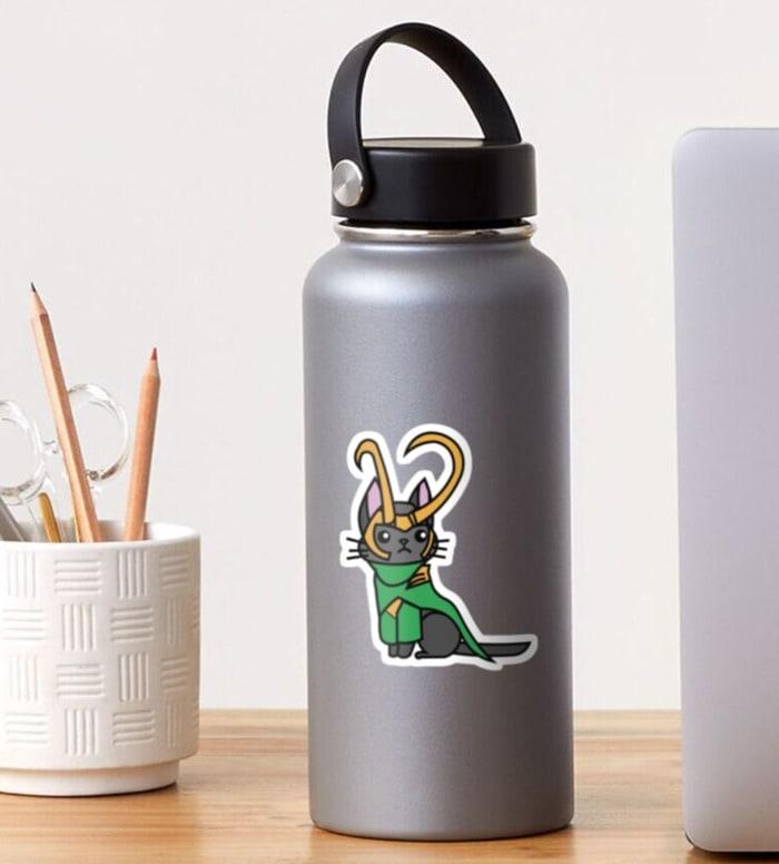 Loki Gift Guide - Loki Cat Sticker