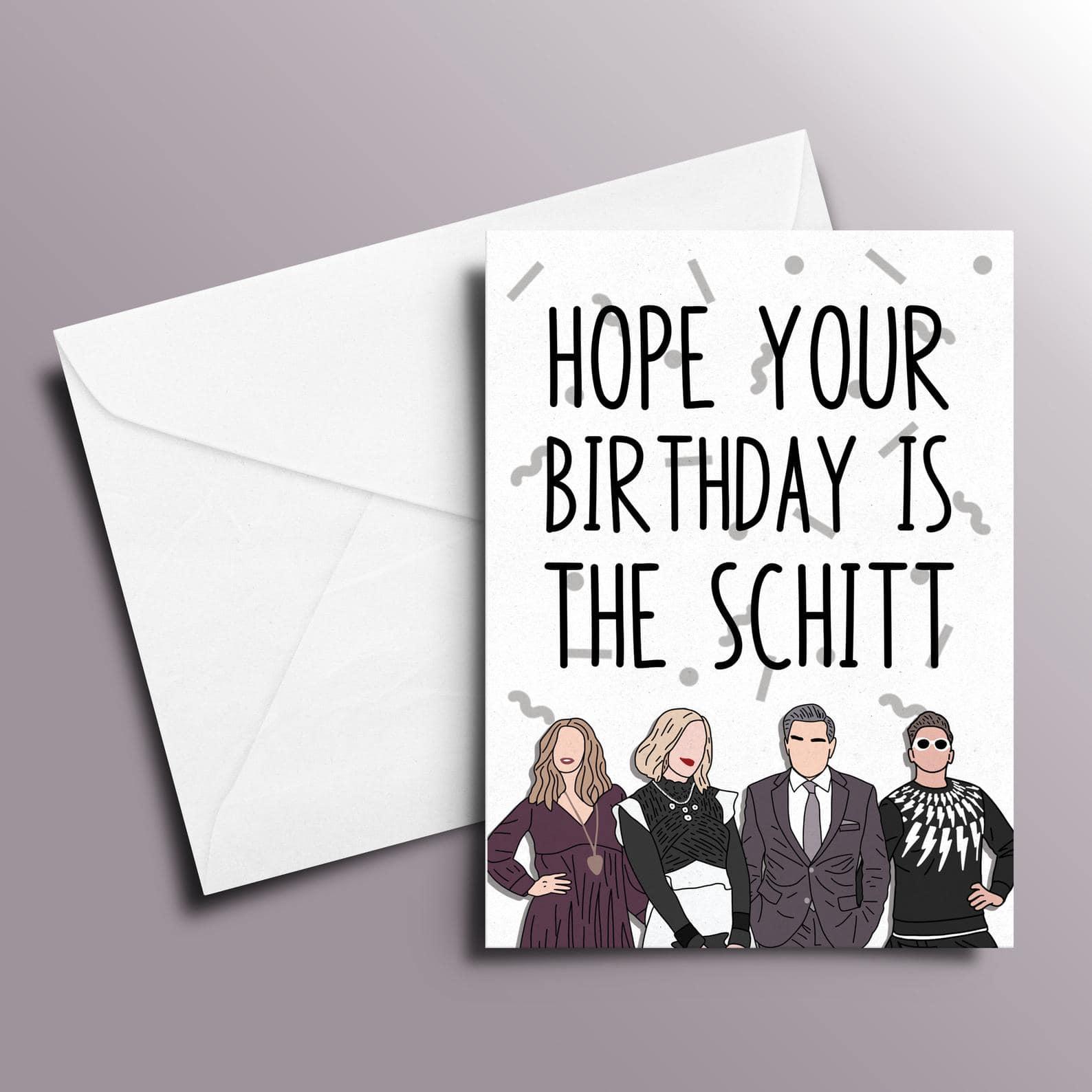Schitt's Creek Gifts - Birthday Card