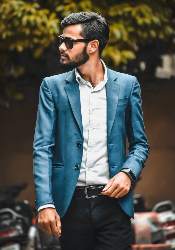 Signs a Man is Attracted to You Sexually - upgrades his wardrobe