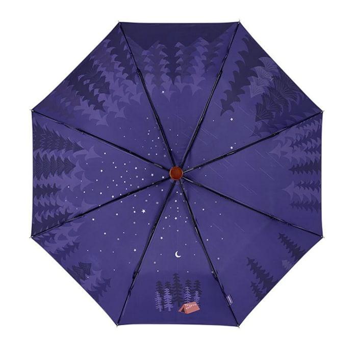 Purple Forest Umbrella Starbucks