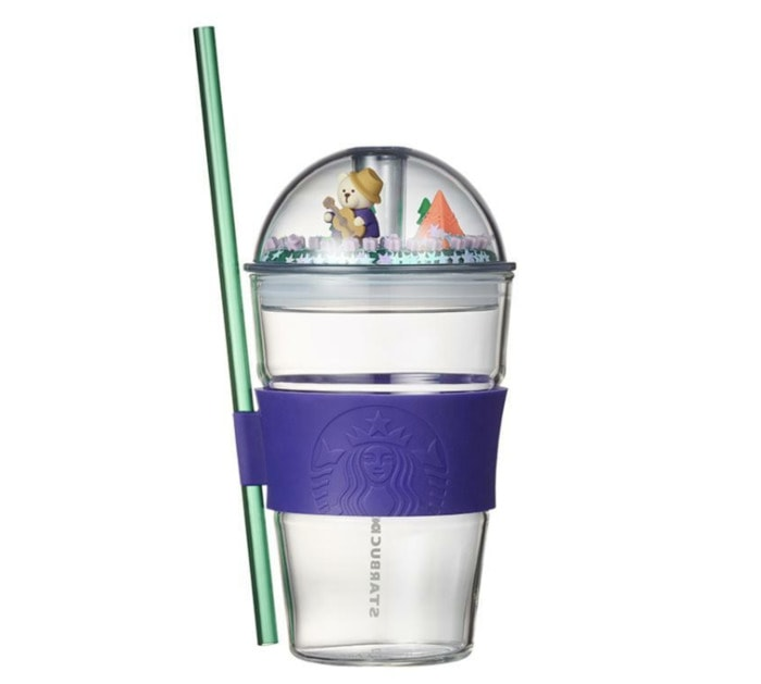 Starbucks Korea Back to Nature Collection - Dome with Bear on Guitar