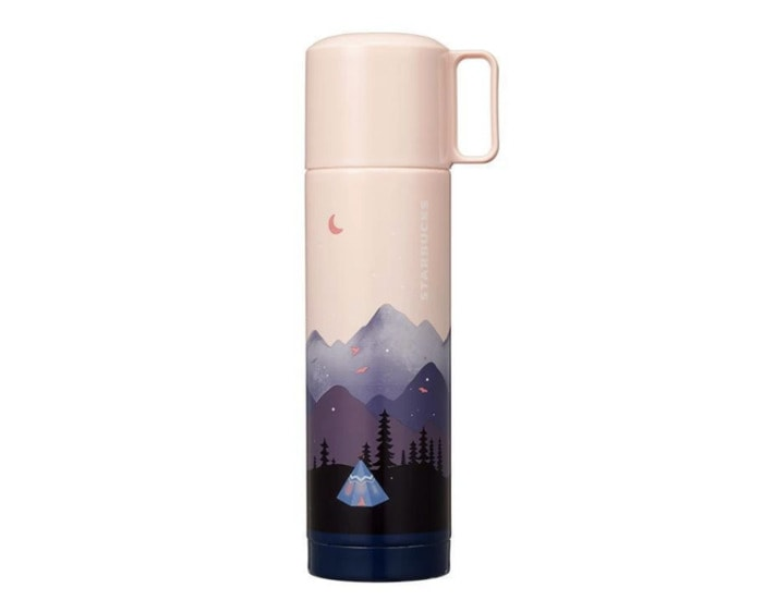 Starbucks Korea Back to Nature Collection - Pink Thermos with Sunset