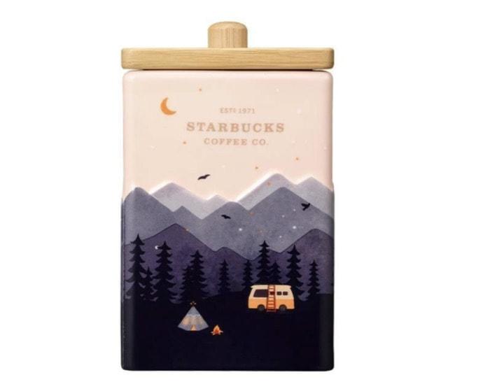 Starbucks Korea Back to Nature Collection - Pink Sunset Ceramic Box