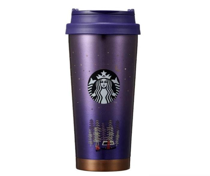 Starbucks Korea Back to Nature Collection - Purple Metal Tumbler