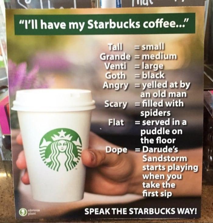 Starbucks Memes Tweets - obvious plant