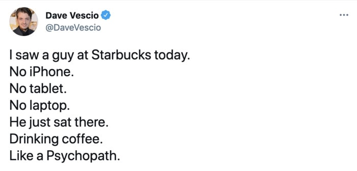 Starbucks Memes Tweets - sitting there