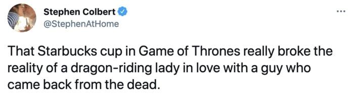 Starbucks Memes Tweets - game of thrones cup