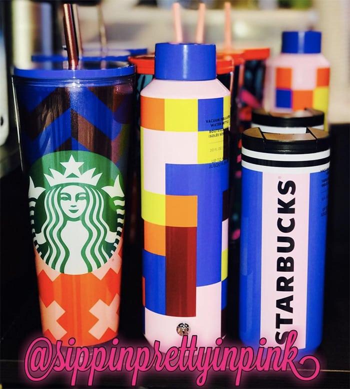 Starbucks Summer Cups - Target Exclusive Mondrian