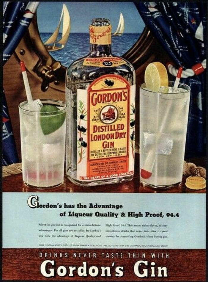 Vesper Cocktail - Gordon's Gin