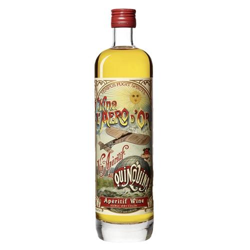 Vesper Cocktail - tempus fugit kina l'aero d'or Lillet