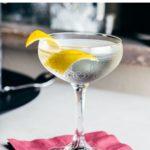 Vesper Martini Cocktail - Pin