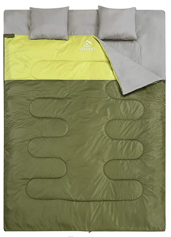 Camping Sex - two person sleeping bag