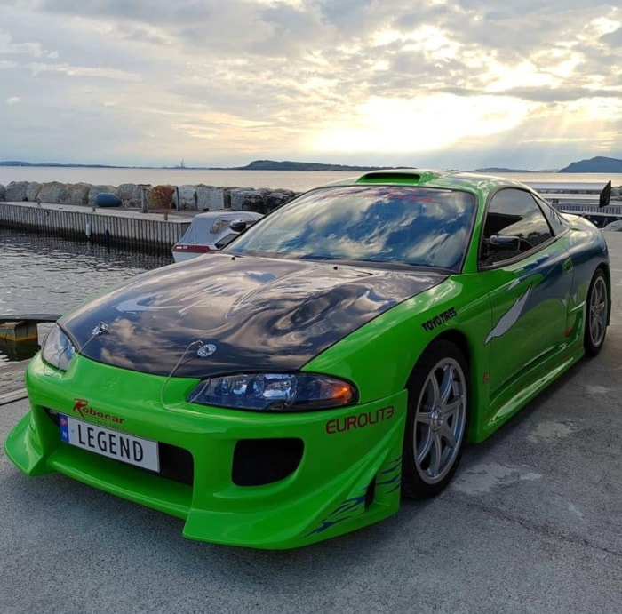 Fast and the Furious Cars - 1995 Mitsubishi Eclipse