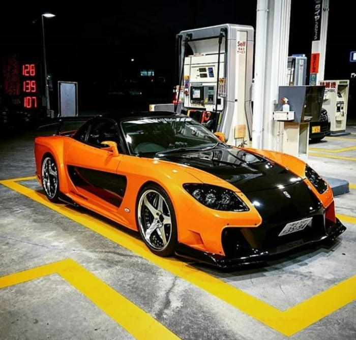 Fast and the Furious Cars - Mazda RX-7