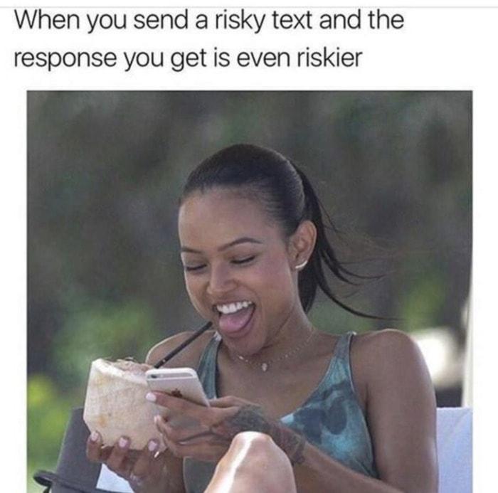Relationship Memes - risky thigh