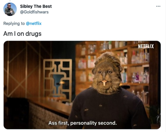 Sexy Beasts Tweets - Am I on drugs