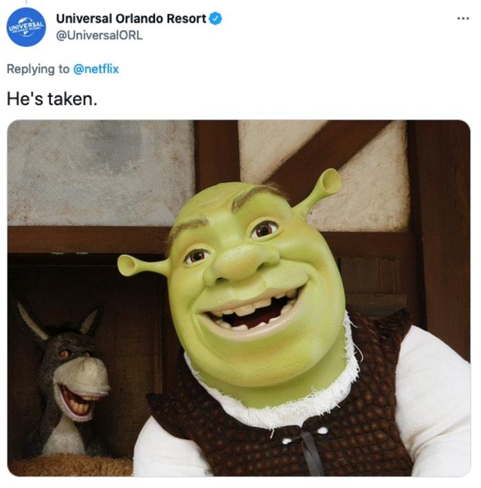 Sexy Beasts Tweets - Shrek is taken
