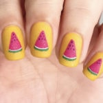 Summer Nail Designs - watermelon nails
