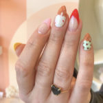 Summer Nail Designs - ice cream cone nails