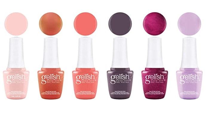 Best Gel Nail Polish - Gelish soak off nail polish