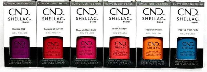 Best Gel Nail Polish - CND Shellac gel