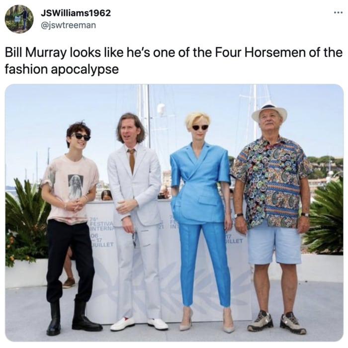 Bill Murray Photo Cannes - fashion