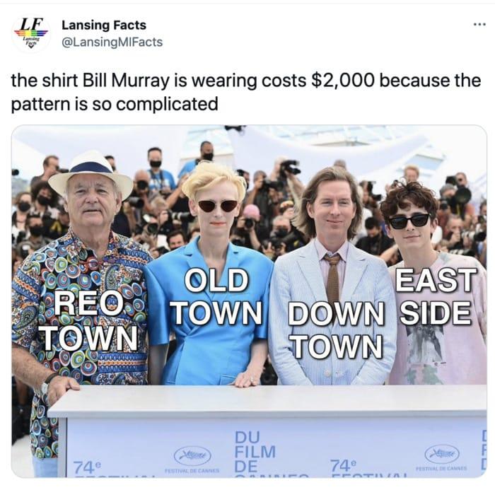 Bill Murray Photo Cannes - shirt