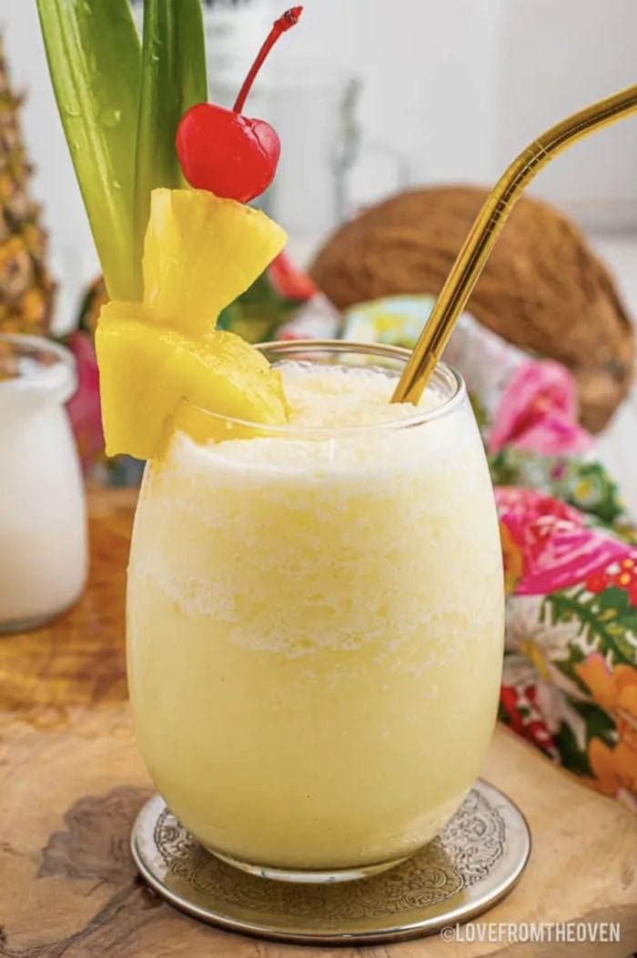 Coconut Rum Cocktails - Pina Colada