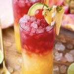 Coconut Rum Cocktails - Malibu Bay Breeze
