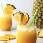 Coconut Rum Cocktails - Pineapple Margarita