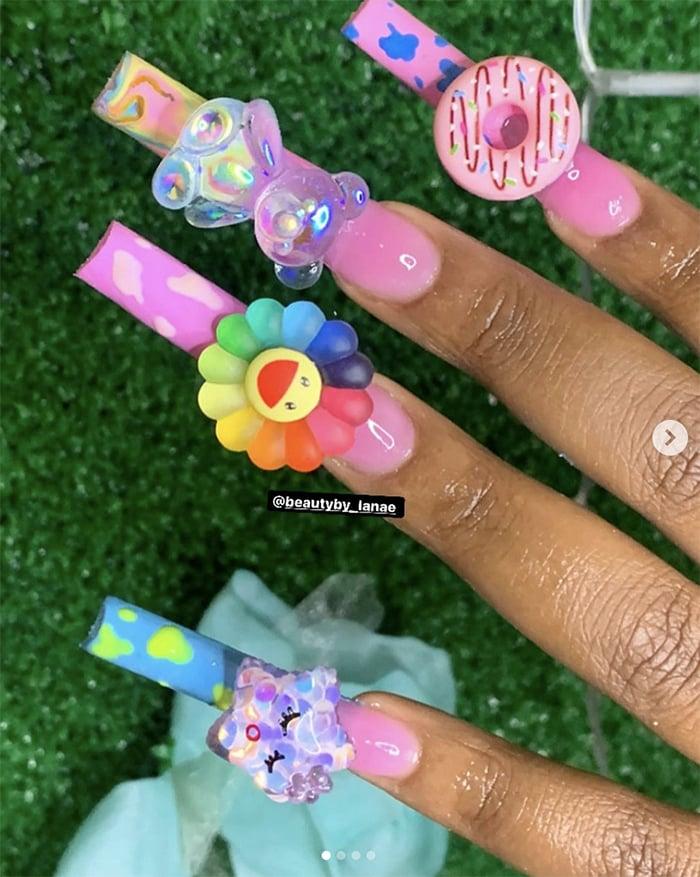 Duck Nails - Takashi Murakami and Donuts