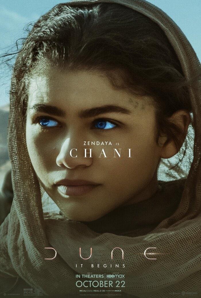 Dune Poster - Zendaya