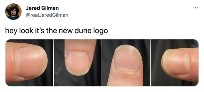 Dune Poster Tweets - Dune Logo