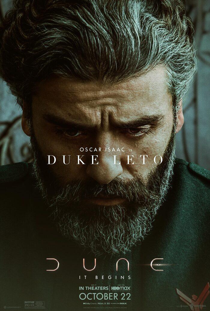 Dune Poster - Oscar Isaac