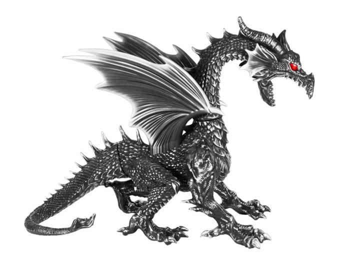 Home Depot Fog Breathing Dragon - full dragon