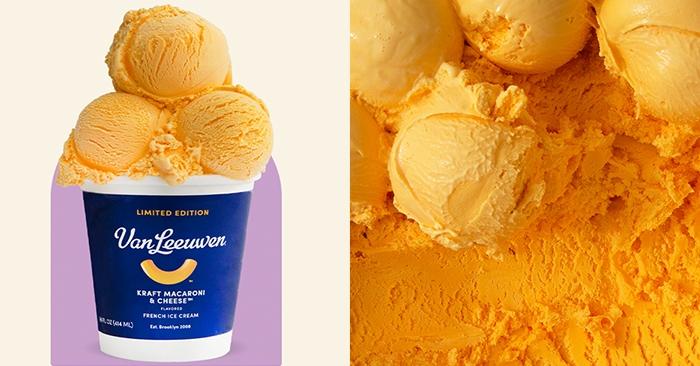 Kraft Mac and Cheese Ice Cream